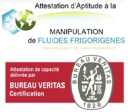 Manipulation de fluides frigorigènes
